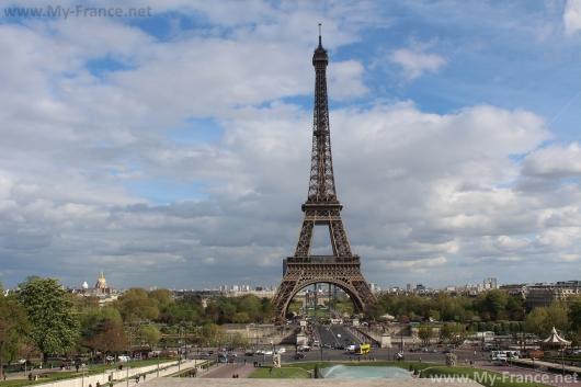 Главный символ Парижа да и всей Франции