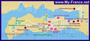 Карта отелей Бонифачо