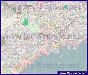Подробная карта города Брест