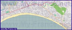 Подробная карта города Ля Боль
