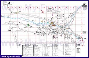 Карта отелей Морзина