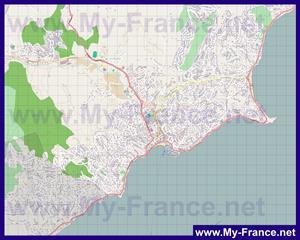 Подробная карта города Сен-Максим