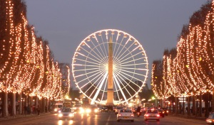 Париж. Елисейские Поля