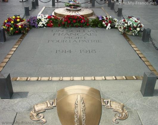 Могила Неизвестного Солдата в Париже