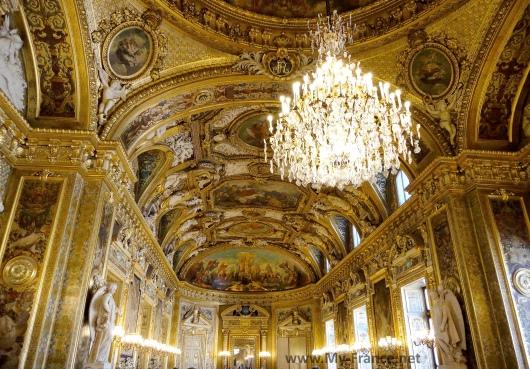 Интерьеры Люксембургского дворца