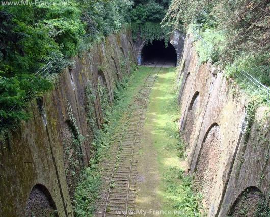 Железная дорога в парке Монсури