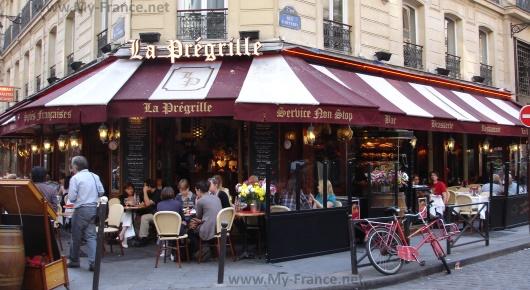Типичный парижский ресторан