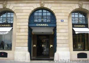 Бутик Chanel в Париже