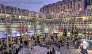 Forum des Halles в Париже