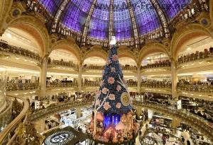 Galeries Lafayette в Париже