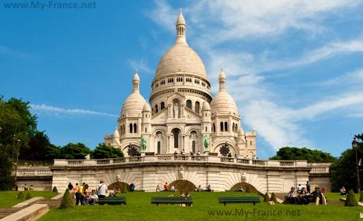 Самый большой собор Парижа – Собор Сакре-Кёр
