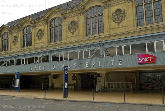 Gare d'Austerlitz – Вокзал Аустерлиц
